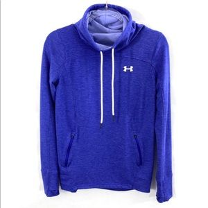 Under Armour Loose Cowl Funnel Neck Pullover Top